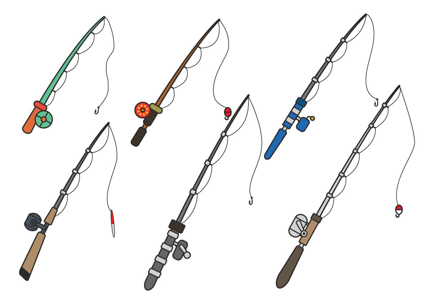 fishing rod vector download free vector art  stock Boat Clip Art Funny Fisherman Clip Art