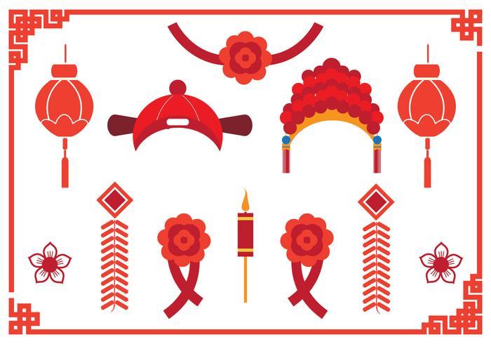 Elemento chino de la boda