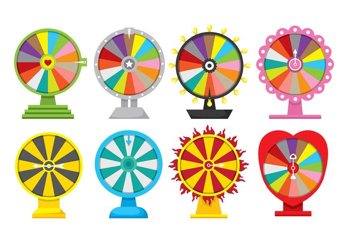 Spinning Wheel Icon Vectors