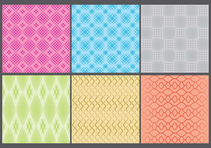 Colorful Crosshatch Patterns