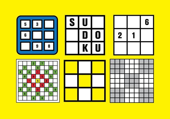 Sudoku Vector Set