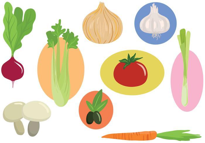 Vegetables Vectors