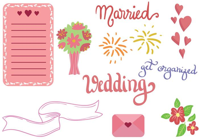 Gratis Wedding Vectors