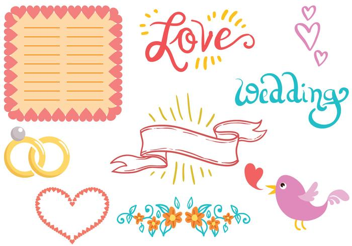Free Wedding Planner Vectors