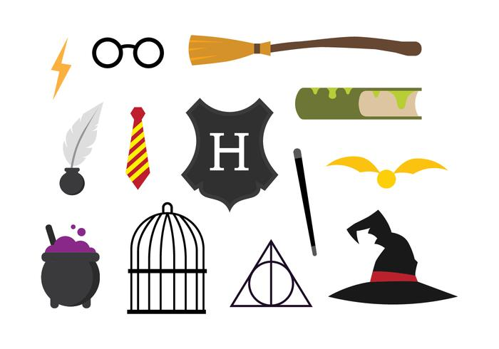 Free Hogwarts Vector Set