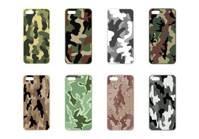 Phone Case Camo Vector