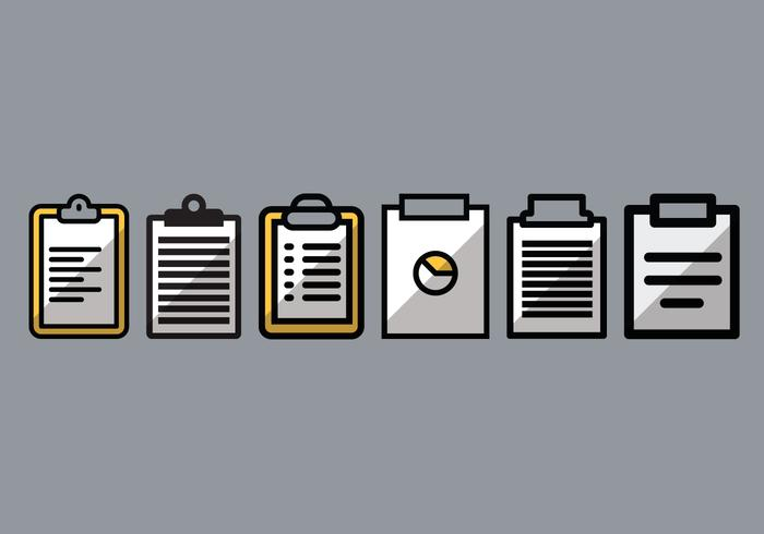 Prescription Pad Vector Pack 1