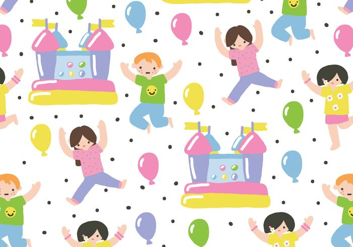 Children Party vector