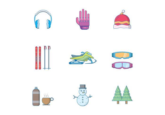 Gratis vinter ikon
