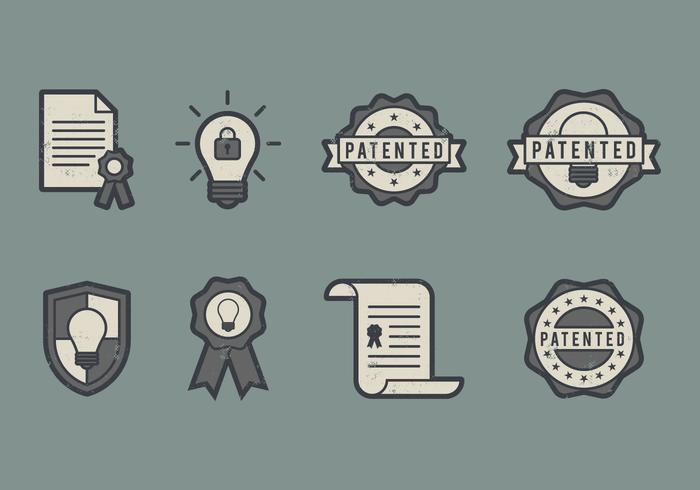 Patent Icon vector