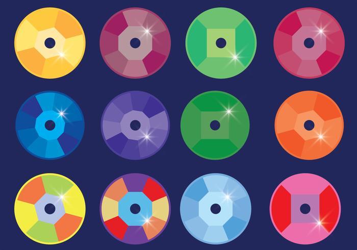 Multicolored Sequin