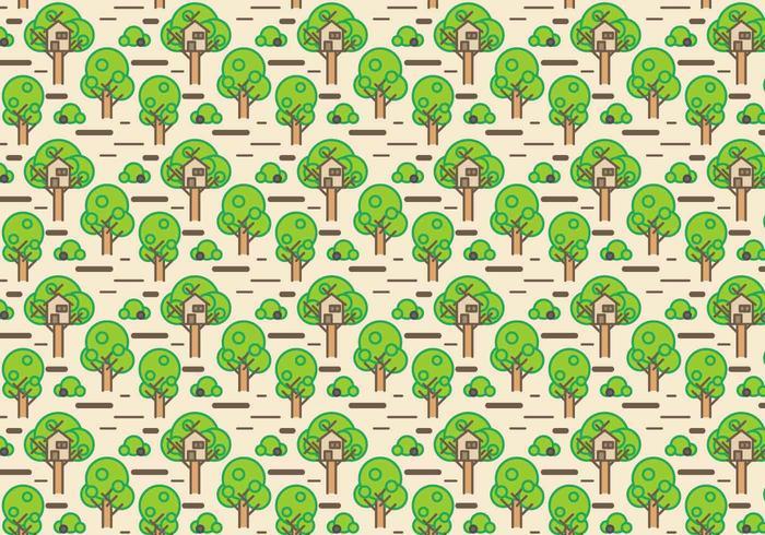 Vector libre de la casa del árbol