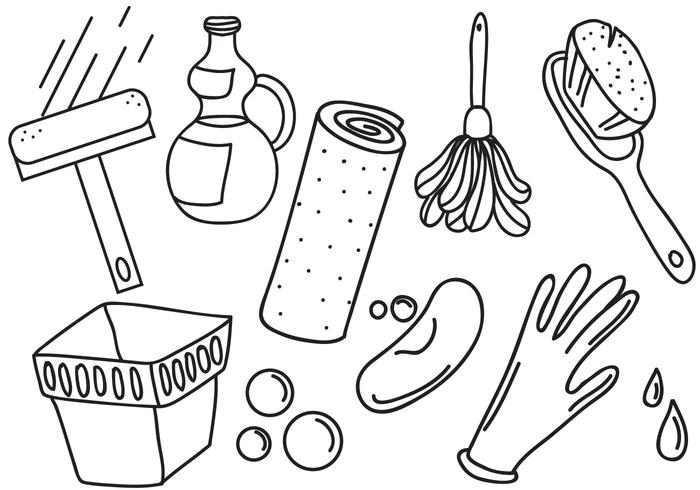 Free Spring Cleaning Vectors