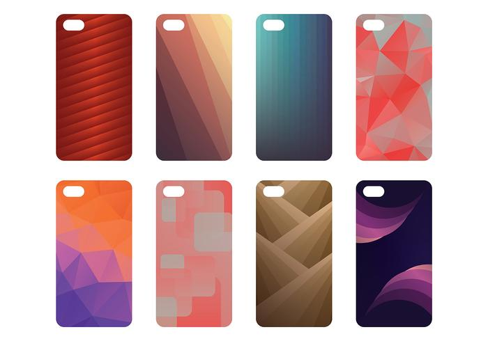 Free Phone Case Icons Vector