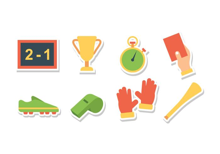 Free Soccer Sticker Icons