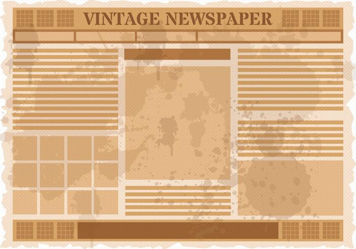 Old Newspaper Free Vector Art 5878 Free Downloads