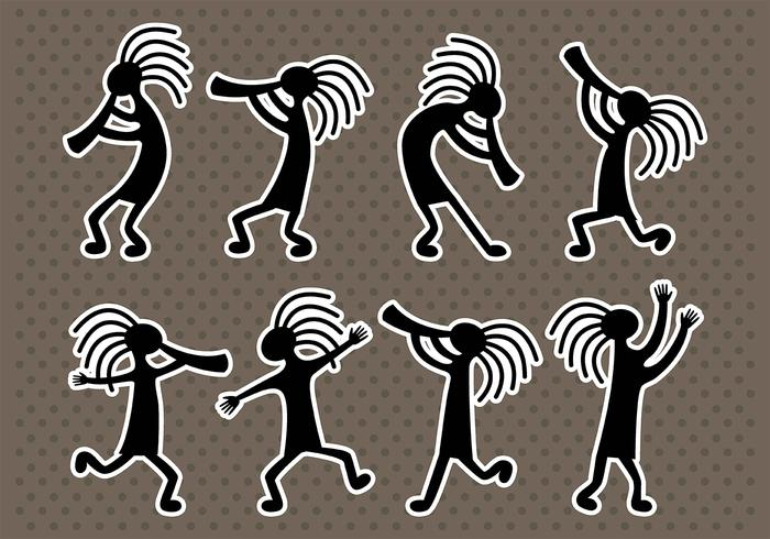 Kokopelli Icons