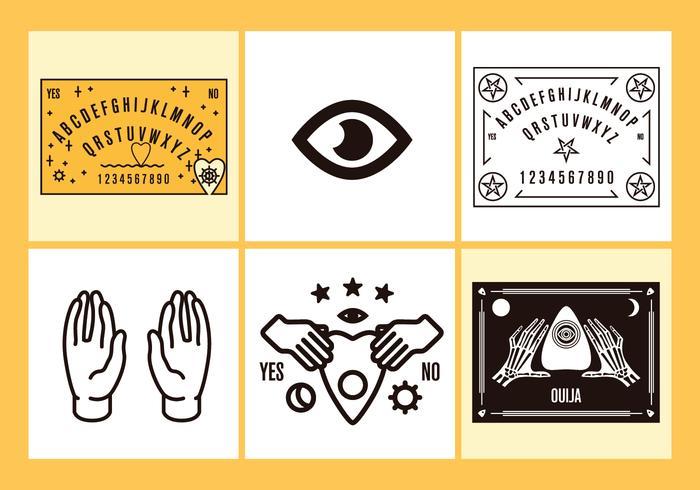 Ouija Vector Illustrations