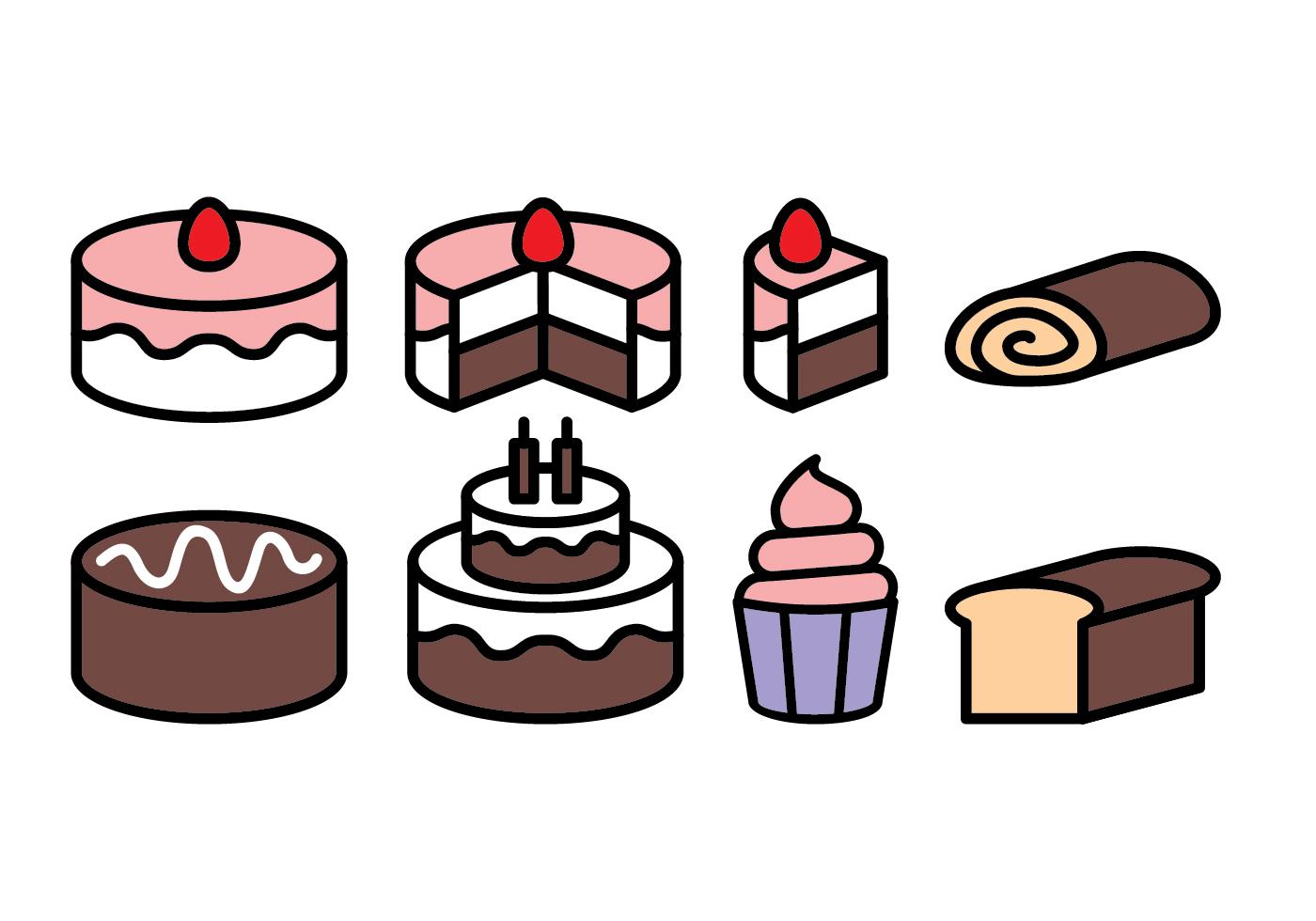 Cake Icon Free Vector Art 68603 Free Downloads