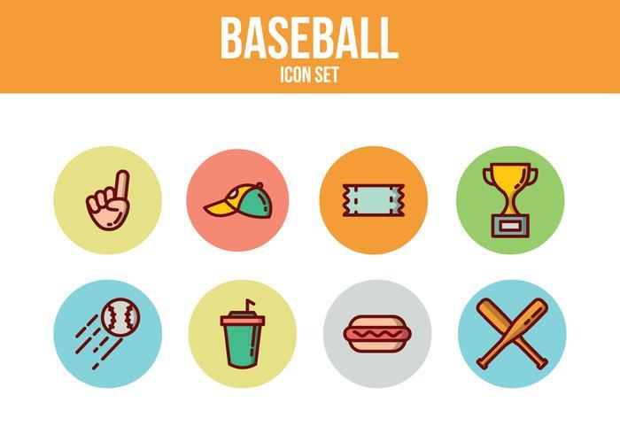 Gratis Baseball Pictogrammen
