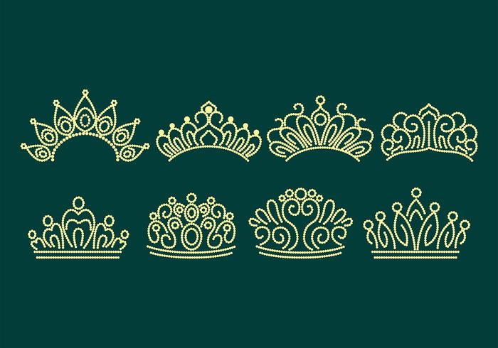 Pageant Crown Icons