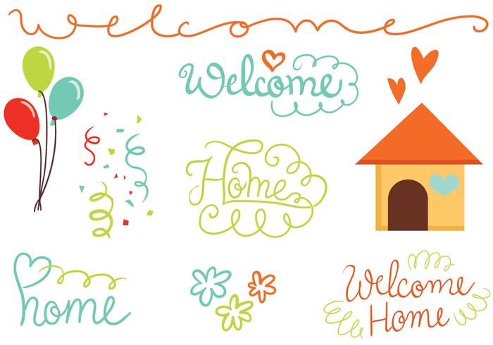 Free Welcome Home Vectors