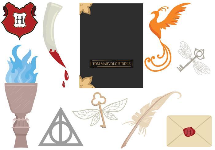 Libre Hogwarts 2 Vectores