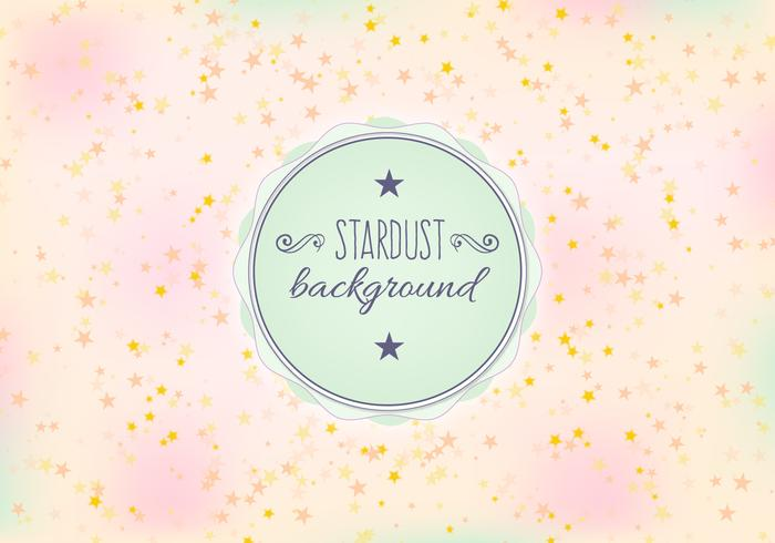 Free Vector Stardust Background