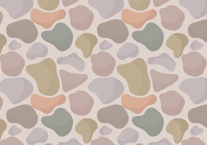 Free Vector Stone Path Seamless Pattern