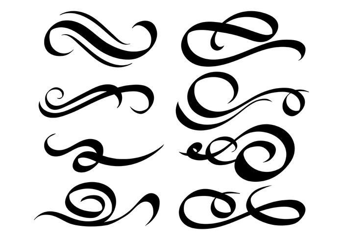 Free Swish Icons Vektor