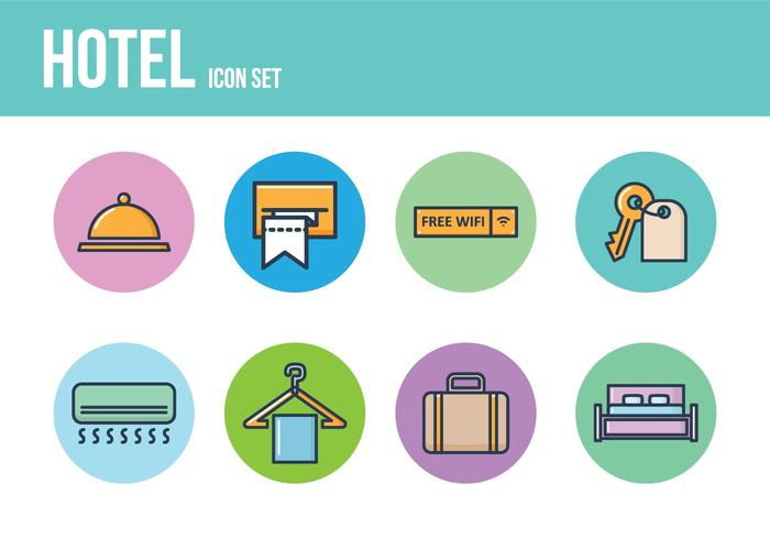 Kostenloses Hotel Icons