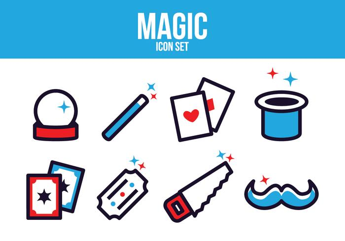 Gratis Magic Icon Set vector