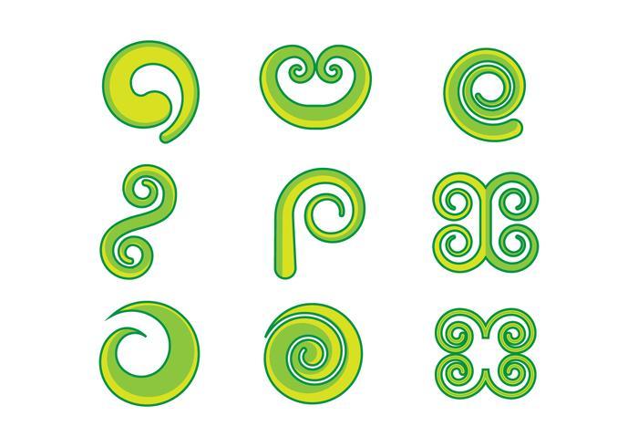 Free Koru Graphic Vectors