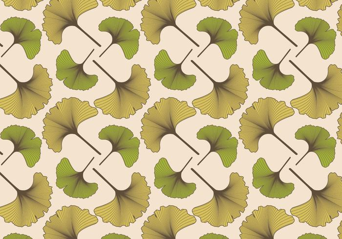 Ginko Muster Vintage