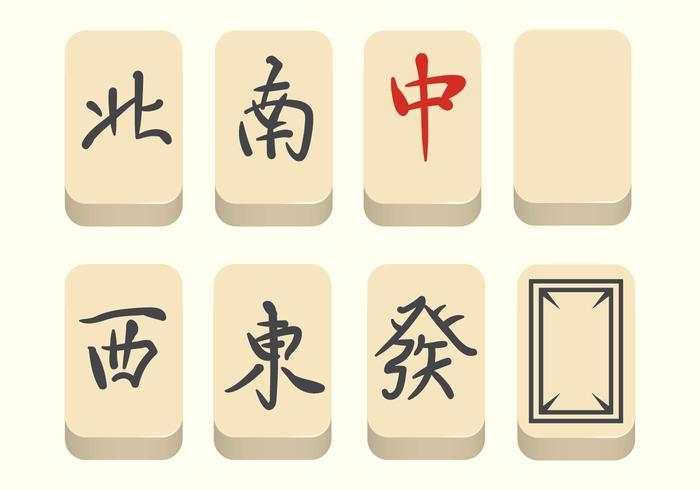 Livre Mahjong Vector