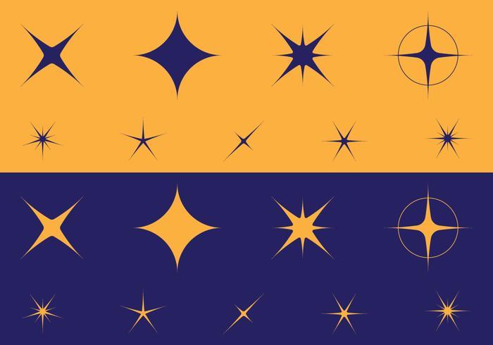 Sparkles icoon vector