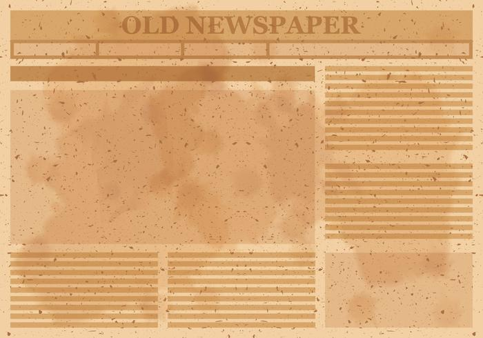 Old Vintage Newspaper - Download Free Vector Art, Stock Graphics