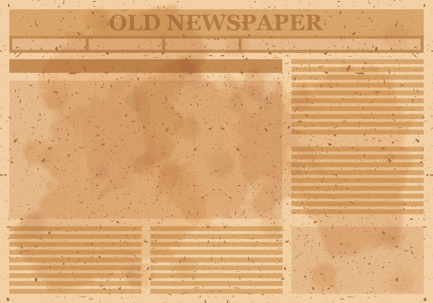 Viejo vector de diseño de periódico - Descargue Gráficos y Vectores ...