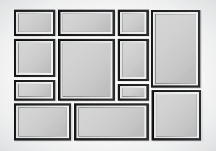 Zusammengesetzte leere Rahmen