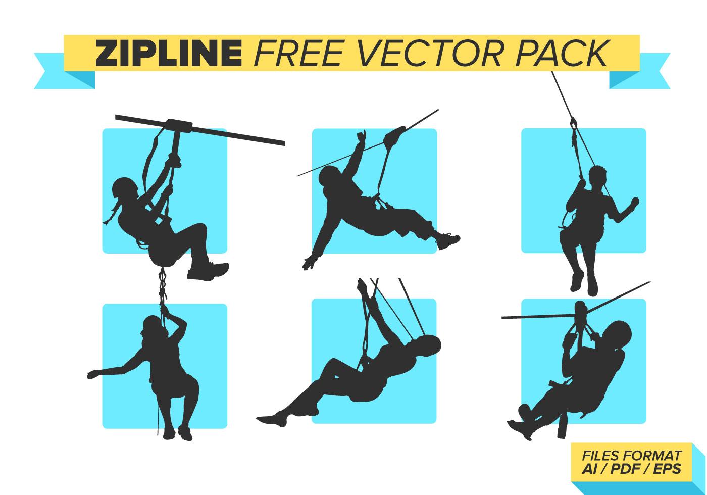 Zipline Free Vector Pack Download Free Vector Art Stock
