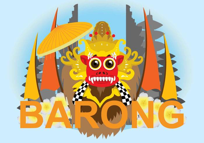Ilustração gratuita de Barong