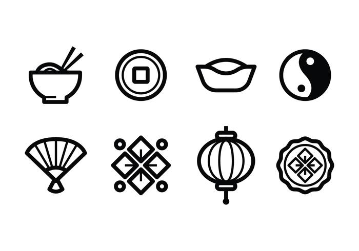 Gratis Chinese Icon Set