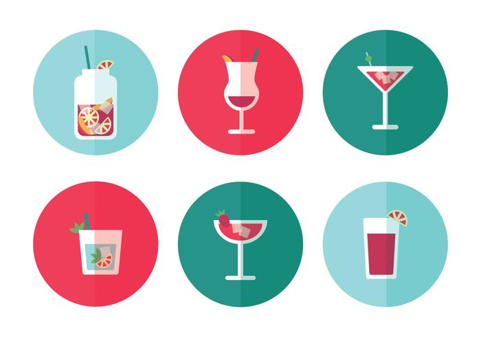 Beverages Icon Vectors