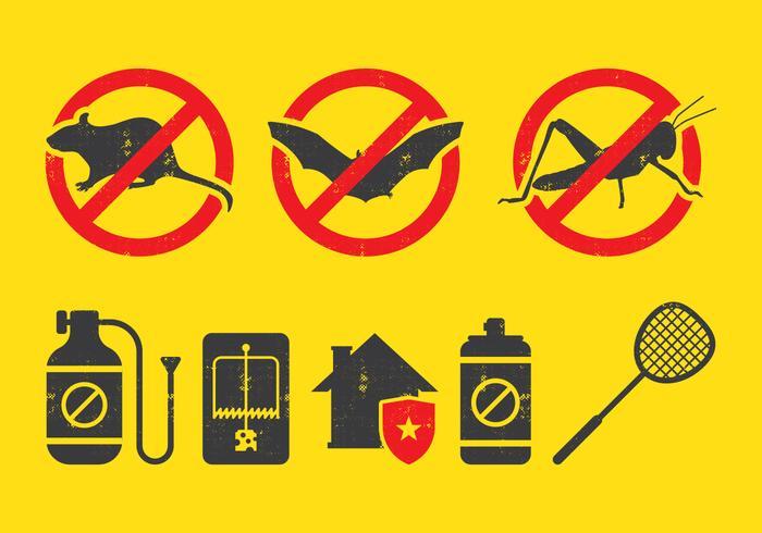 Pest Control Icon vector