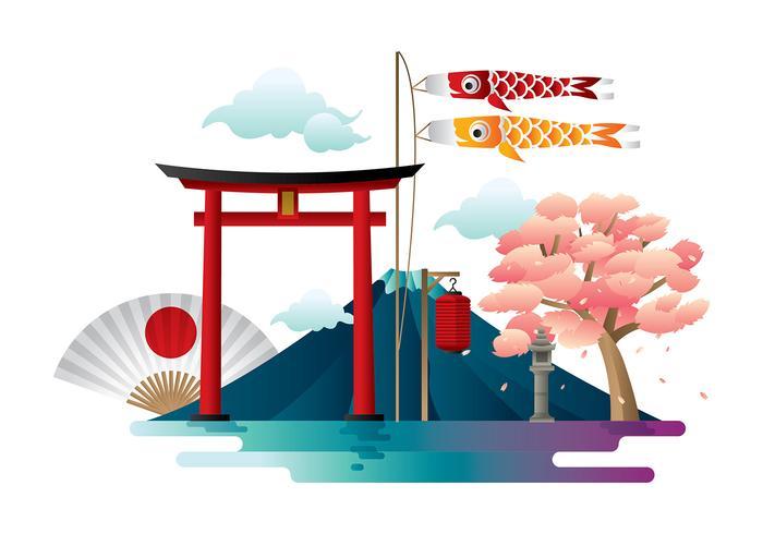 Japanesse Torii Vektor