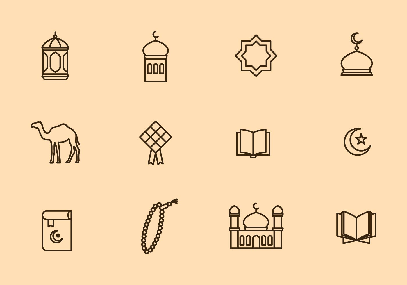 Eid Mubarak Icon - Download Free Vector Art, Stock ...