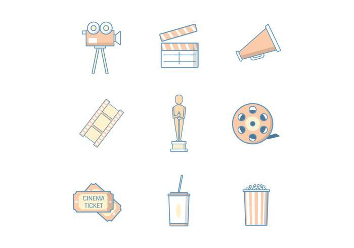 Kostenlose Film & Kino Vektor