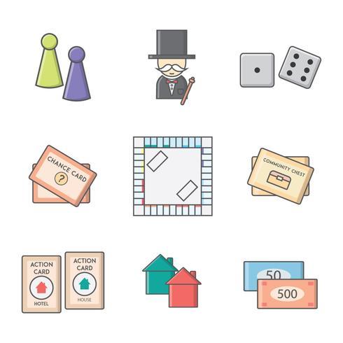 Gratis Monopoly Board Game Vector