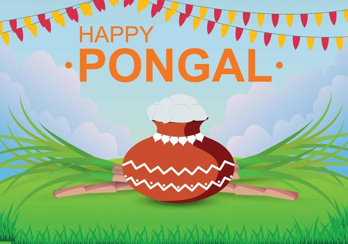 Free Pongal Illustration