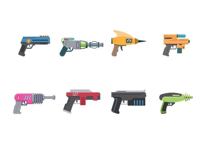 Gratis Laser Gun Vector
